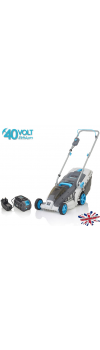 Swift 40V Wide 37cm Cordless Lawnmower