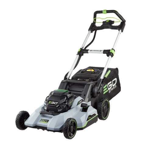 Ego Power Plus LM2135E-SP Kit Cordless Self Propelled Lawn Mower c/w 7.5Ah Battery & Rapid Charger