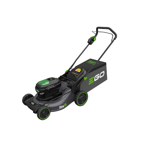 Ego Power Plus Cordless LM2011E Steel Deck Lawnmower c/w 5.0Ah Battery and Charger