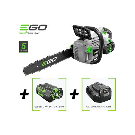 EGO Power Plus CS1401E Cordless Chainsaw with Battery and Standard Charger