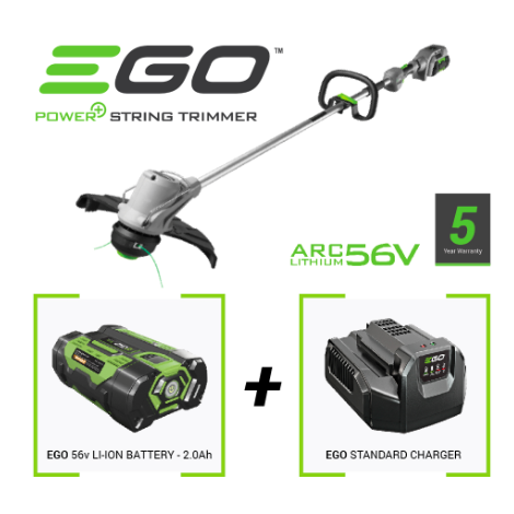 EGO ST1211E WITH 2.0AH BATTERY & STANDARD CHARGER
