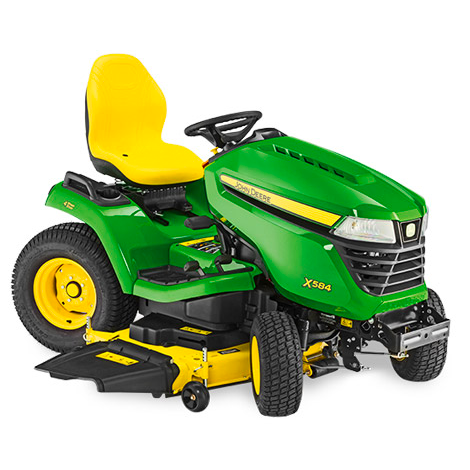 John Deere X584 Ride on Mower (Less Deck)