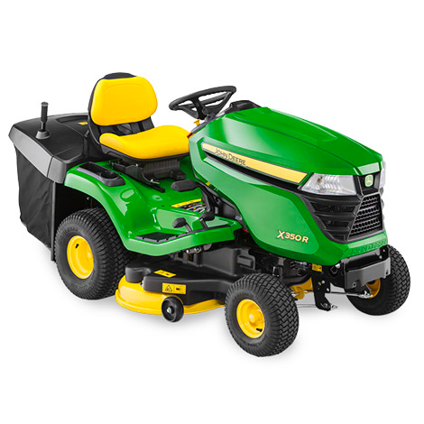"John Deere X350R 42"" Rear Collect Ride on Mower"