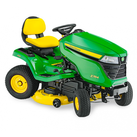 "John Deere X354 with 42"" Edge Mulch"