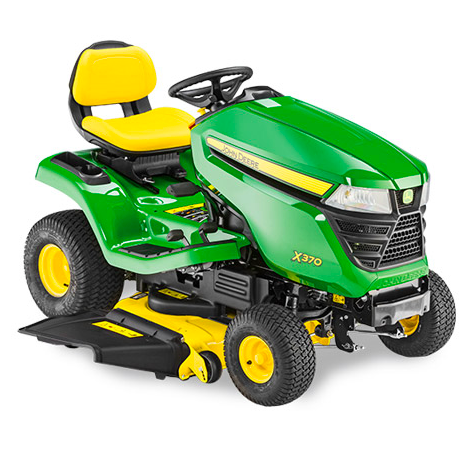 John Deere X370 Side Discharge Mower (Less Deck)