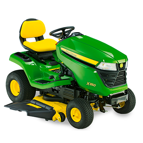 "John Deere X350 Ride on Mower and 42"" Accel Deck"
