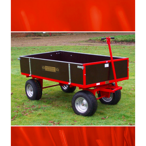 SCH GWT415 Heavy Duty 4 Wheel Timber Trailer