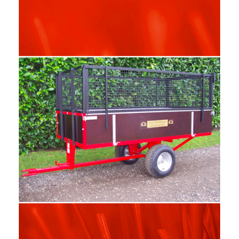 SCH GWTS15 15cwt Timber Tipping Trailer
