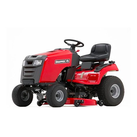 Snapper SPX100 Side Discharge Ride on Mower
