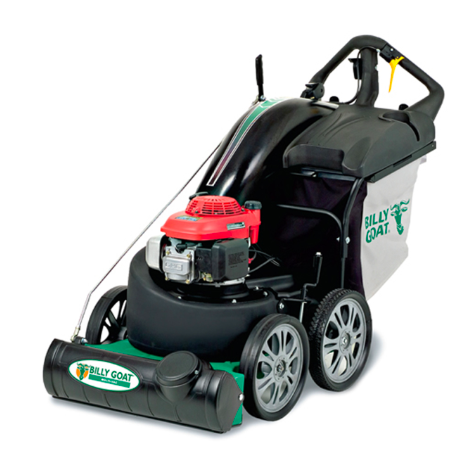 Billy Goat MV650H Pro Multi Surface Vacuum