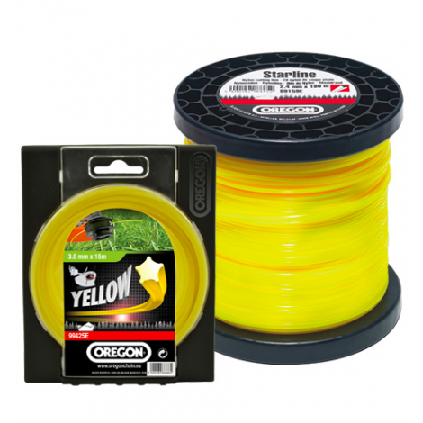 Oregon Yellow Starline 2.0mm x 15m