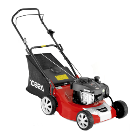 Cobra M46B Briggs and Stratton 18 Inch Push Petrol Lawnmower