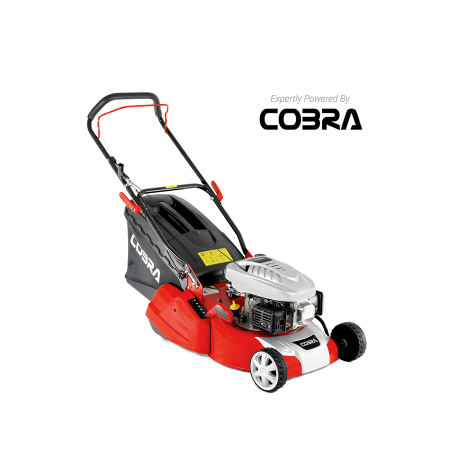 Cobra RM40C 16 Inch Push Rear Roller Petrol Lawnmower