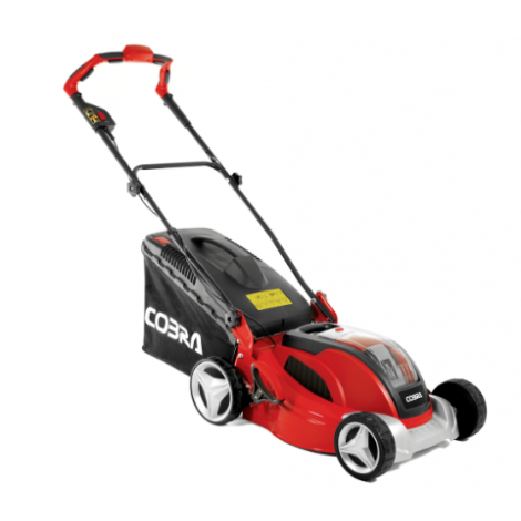 Cobra Cordless Lawnmower MX4140V 16 Inch Li-Ion