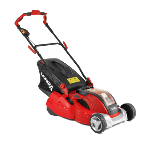 "Cobra RM4140V 16"" Cordless Li-ion 40V Rear Roller Mower"