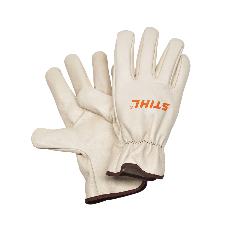 Stihl Universal Full Grain Leather Gloves Size M
