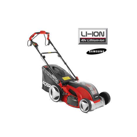 Cobra Cordless Lawnmower MX46S40V 18 Inch S/P 40v Lithium-ion