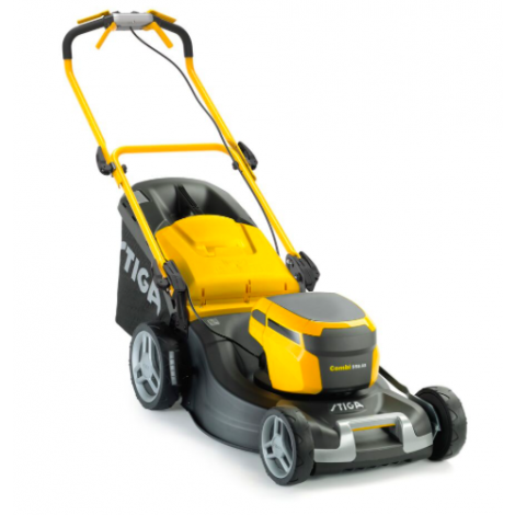 Stiga Combi 55 S AE Cordles Lawnmower Inc 2x 5.0Ah Batteries and Charger