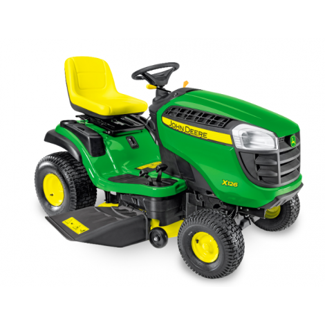 John Deere X126 Ride on Mower