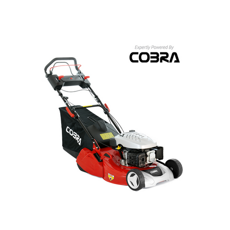 "Cobra RM514SPC 20"" S/P Rear Roller Petrol Lawnmower"