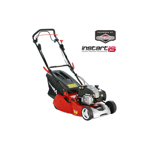 "Cobra RM433SPBI 17"" S/P InStart Rear Roller Lawnmower"