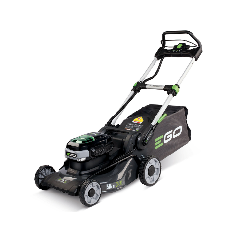 EGO Power Plus LM2024E Cordless Steel Deck Lawn Mower c/w 6.0Ah Battery and Rapid Charger