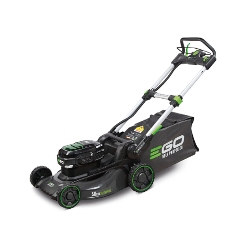EGO Power Plus LM2024E-SP Cordless Self-Propelled Lawn Mower c/w 6.0Ah Battery & Rapid Charger