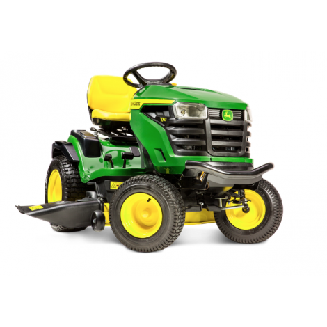 John Deere X167 Ride On Mower